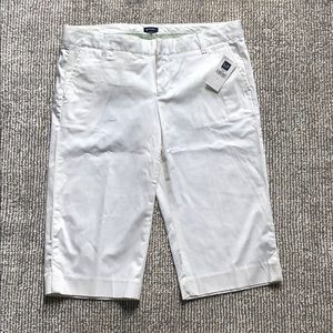 White long shorts